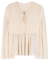 Chloé Cotton And Silk Blouse