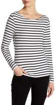 Frame Stripe Long Sleeve Tee