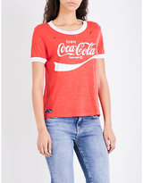 Wildfox Couture Coca Cola jersey T-shirt