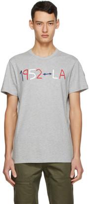 MONCLER GENIUS 2 Moncler 1952 Grey Logo T-Shirt