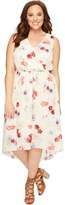 Lucky Brand Plus Size Floral Printed Maxi Dress