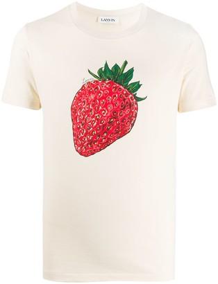 Lanvin strawberry print T-shirt