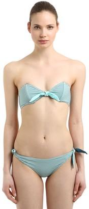 BRIGITTE Albertine Reversible Seersucker Bikini