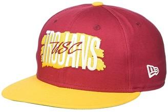 289c Apparel USC Trojans New Era Wordmark 9TWENTY Cap (Cardinal) Caps