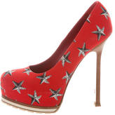 Saint Laurent Platform Star Pumps