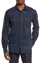 Jean Shop Men's Garth Denim Western Shirt