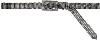Black & Brown 25mm Sonam Crystal Belt