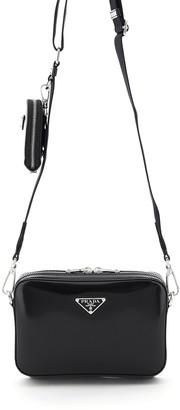 Prada Mini Bag Cleo Shoulder Strap With Pouch