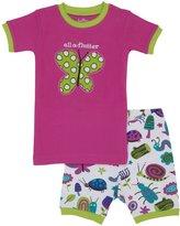 Hatley Short PJ Set (Toddler/Kid) - Girly Bugs-3T