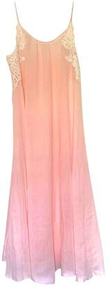 Non Signã© / Unsigned Hippie Chic Pink Cotton Dresses