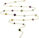Auree Jewellery Chennai Multi Gemstone & Gold Vermeil Long Necklace