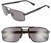 BOSS Men's '0773/s' 60Mm Sunglasses - Black Crystal Brown