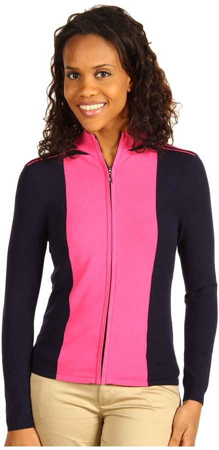 DKNY Golf Madison Cardigan Sweater