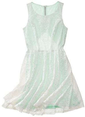 Xhilaration Juniors Lace Open Back Dress - Assorted Colors