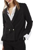 Topshop Women's Split Cuff Blazer