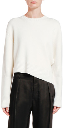 Bottega Veneta Wool Asymmetric Cutout Sweater