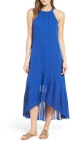Vince Camuto Petite Women's High/low Midi Dress