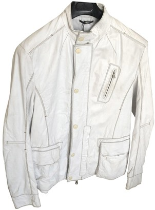 Fendi White Leather Jackets