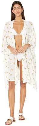 O'Neill Kimberly Kimono Cover-Up (Eggshell) Women's Swimwear