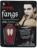 Fun World Costumes Vampire Fangs (New 2013 Model) - with hot melt adhesive