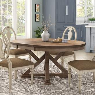 Gracie Oaks Carnspindle Extendable Dining Table Gracie Oaks