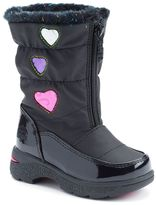 totes Heartful Toddler Girls' Waterproof Winter Boots