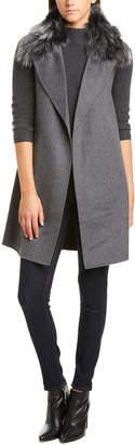 Forte Cashmere Forte Wool & Cashmere-Blend Vest