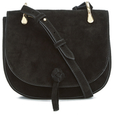 Elizabeth and James Women's Zoe Saddle Bag Black