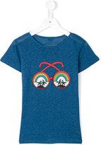 Stella McCartney printed T-shirt - kids - Linen/Flax/Viscose - 4 yrs