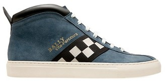 Bally Vita Parcours Suede Mid-Top Sneakers