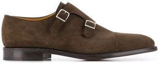 John Lobb William monk strap shoes