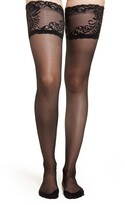 Natori Feathers Escape 2-Pack Back-Seam Stay-Put Stockings