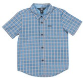 Volcom Toddler Boy's Harper Plaid Woven Shirt