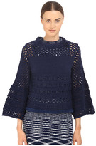 See by Chloe Mesh Stich Pullover