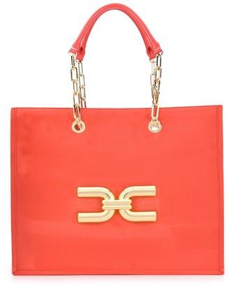 Elisabetta Franchi Logo Tote Bag