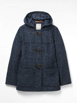 White Stuff Duffle Boucle Coat