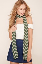 Forever 21 Striped Oblong Scarf