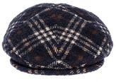 Tagliatore David Virgin Wool Flat Cap