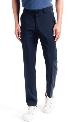 Good Man Brand Soho Slim Fit Flat Front Stretch Cotton Trousers