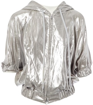 Yohji Yamamoto Y 3 By Y-3 By Silver Jacket for Women