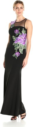 Decode 1.8 Women's Illusion Wth Floral Embroidery