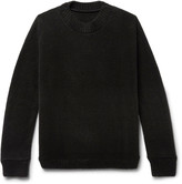 The Elder Statesman Cactus-Jacquard Cashmere Sweater