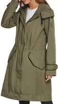 DKNY Hooded Anorak Rain Jacket