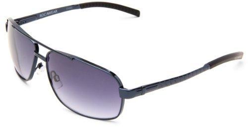 Rocawear Men's R1136 BL Rectangle Sunglasses
