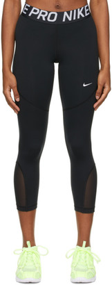 Nike Black Cropped Pro Leggings