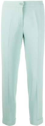 Etro Cropped Tapered-Leg Trousers