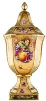 Royal Worcester Painted Fruit Mantle Piece