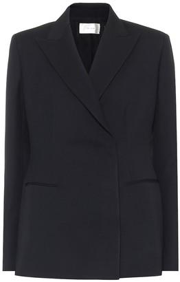The Row Lanois wool and silk-blend blazer