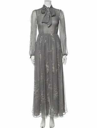 Co 2018 Long Dress Grey