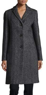 Cinzia Rocca Long Tweed Coat